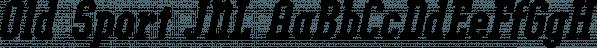 Old Sport JNL font family by Jeff Levine Fonts