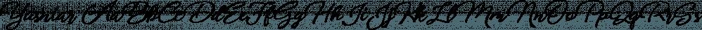 Yusniar font family by Bonjour Type