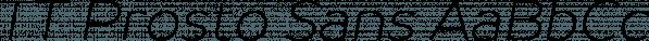 TT Prosto Sans font family by Typetype
