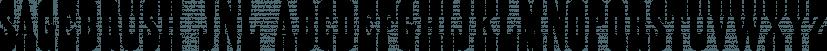 Sagebrush JNL font family by Jeff Levine Fonts
