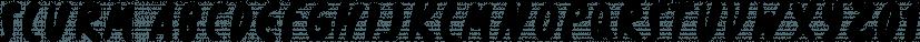 Slurm font family by Nikola Klimova