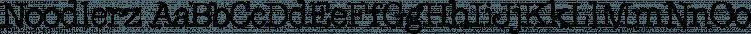 Noodlerz font family by CozyFonts Foundry