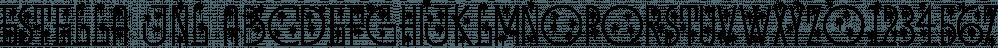 Estella JNL font family by Jeff Levine Fonts