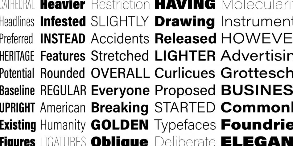 Download Acumin Pro Font Family
