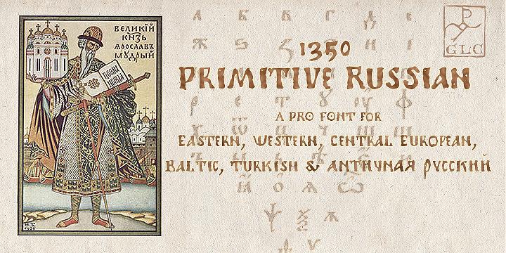 1350 Primitive Russian