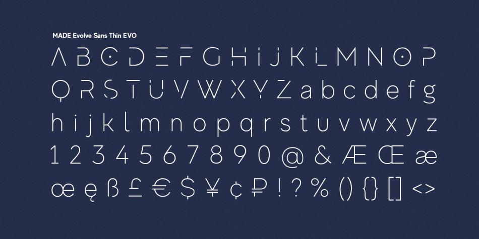Download MADE Evolve Sans Font Family