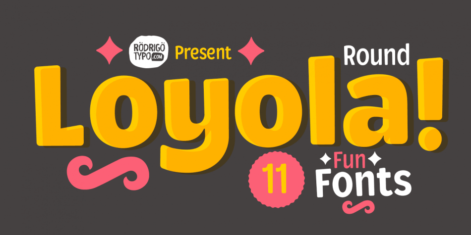 Download Loyola Round Pro Font Family